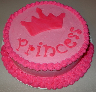 Pretty Princess Cake Ideas